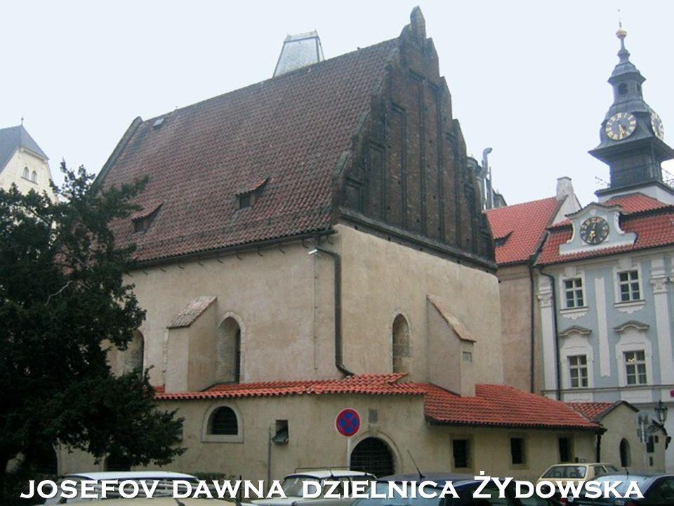 JOSEFOV DAWNA dzielnica Ż Ydowska