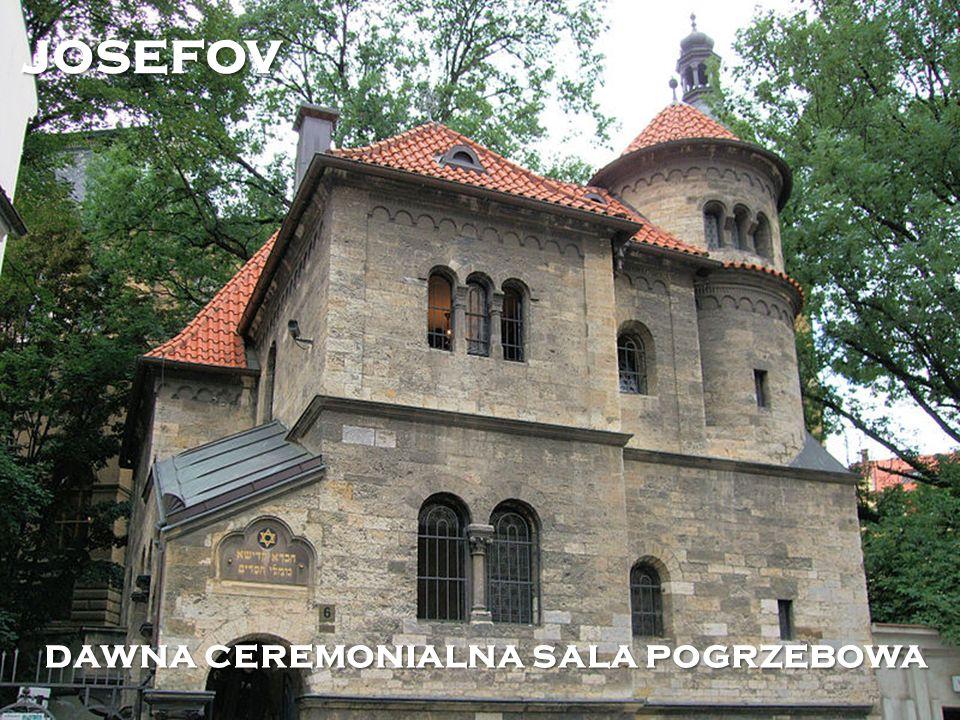 dawna ceremonialna sala pogrzebowa josefov