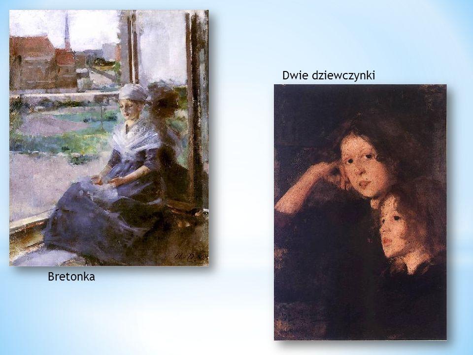 Bretonka Dwie dziewczynki