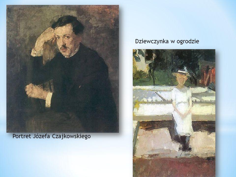 Dziewczynka w ogrodzie Portret Józefa Czajkowskiego