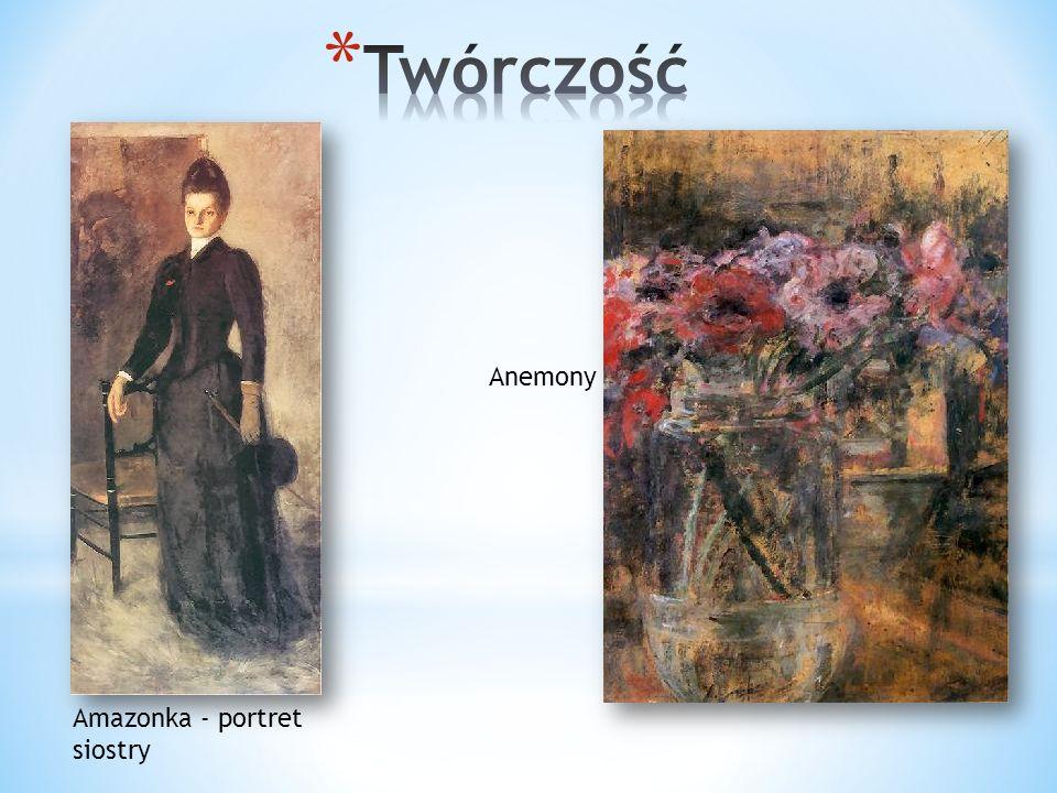 Amazonka - portret siostry Anemony