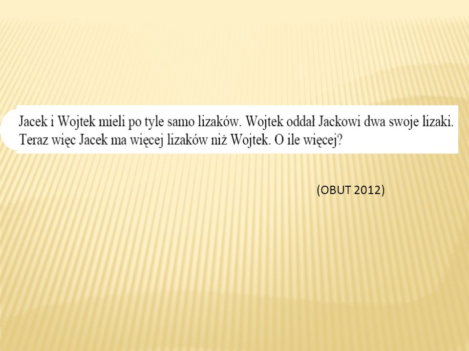 (OBUT 2012)
