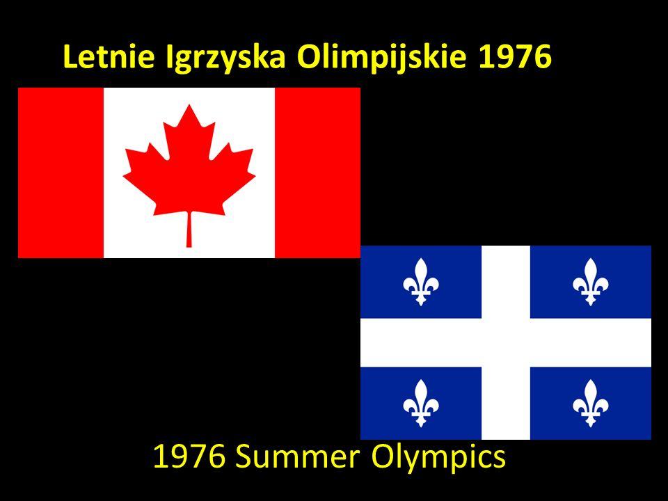 Letnie Igrzyska Olimpijskie 1976 1976 Summer Olympics