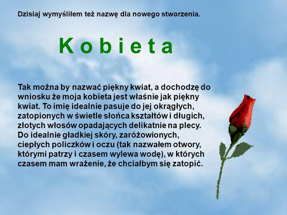 5 Tak można by nazwać piękny kwiat, a dochodzę do wniosku że moja kobieta jest właśnie jak piękny kwiat.
