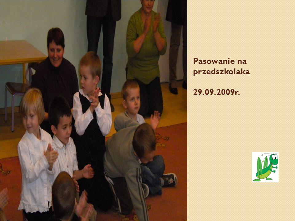 Pasowanie na przedszkolaka 29.09.2009r.