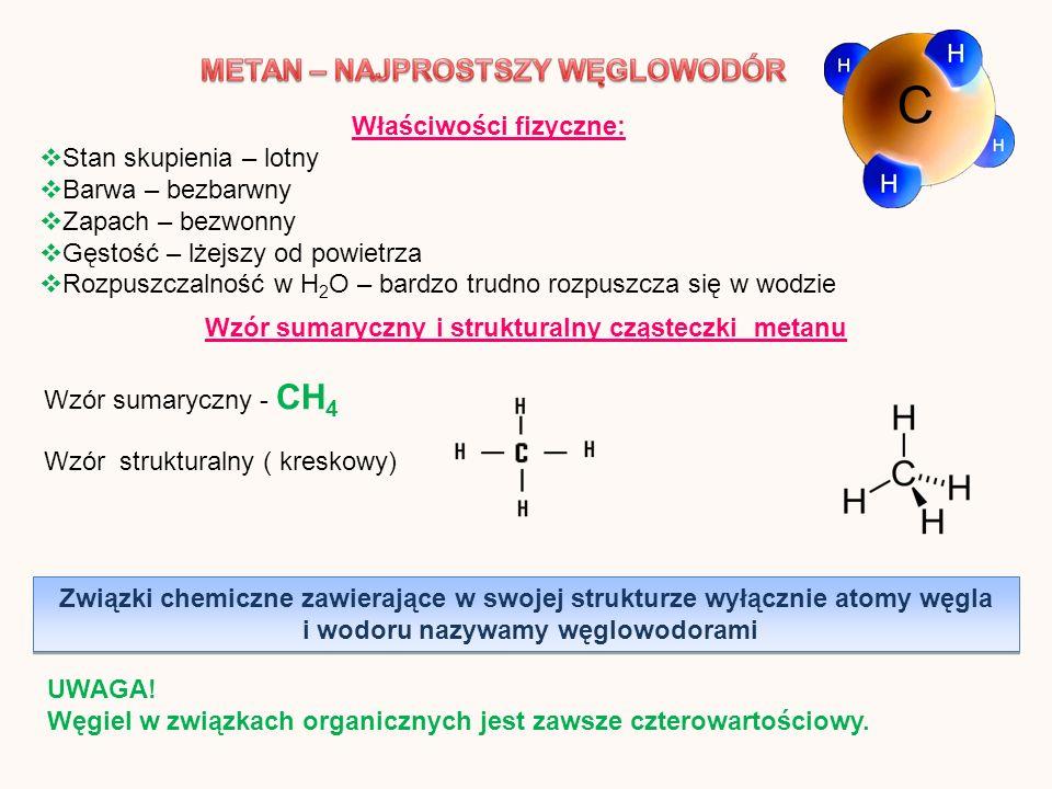 Właściwości fizyczne: Stan skupienia – lotny Barwa – bezbarwny Zapach – bezwonny Gęstość – lżejszy od powietrza Rozpuszczalność w H 2 O – bardzo trudn