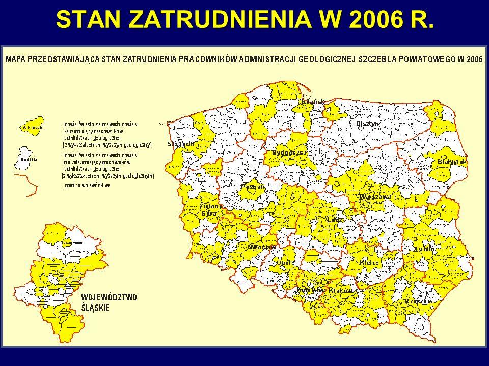 4 STAN ZATRUDNIENIA W 2006 R.