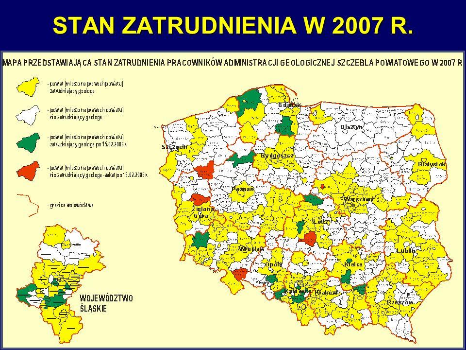 6 STAN ZATRUDNIENIA W 2007 R.