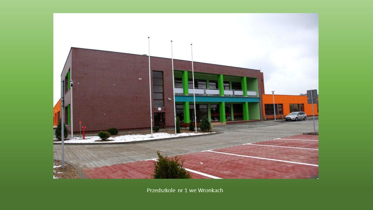 Ostatnim obiektem na naszym szlaku było Przedszkole nr 1 Bajkowy Świat we Wronkach.