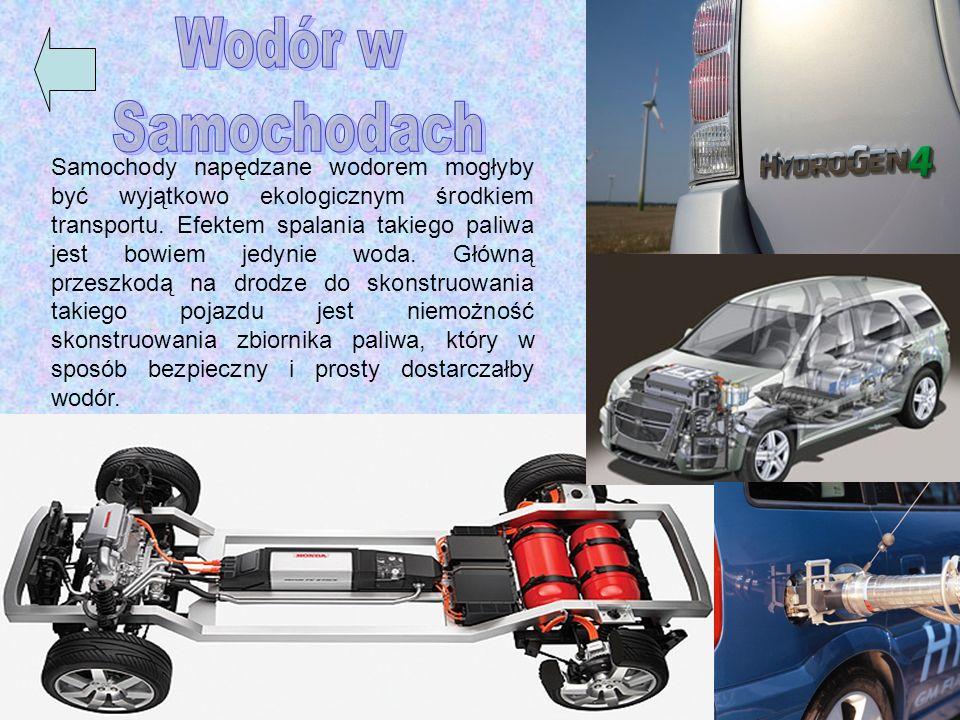 Samochody napędzane wodorem mogłyby być wyjątkowo ekologicznym środkiem transportu. Efektem spalania takiego paliwa jest bowiem jedynie woda. Główną p