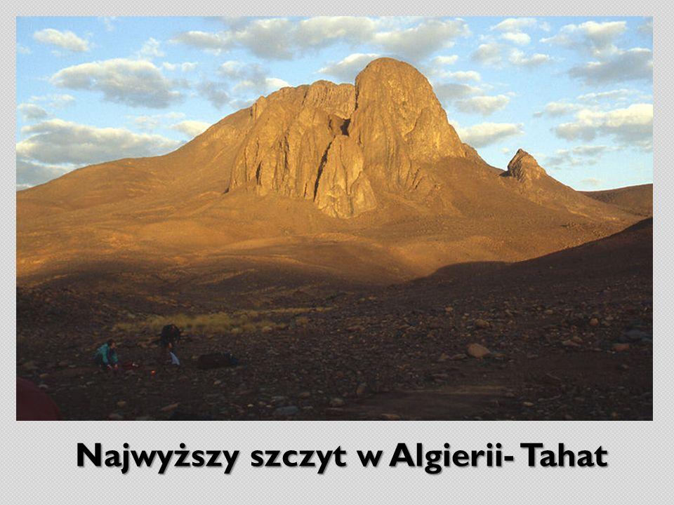 Najwyższy szczyt w Algierii- Tahat