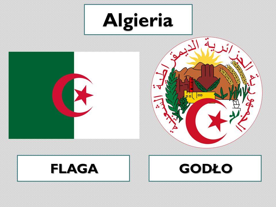 Algieria FLAGAGODŁO