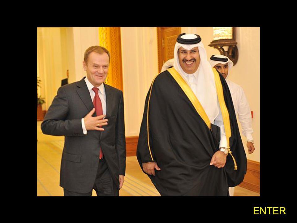 Premier Donald Tusk spotkał się z premierem, ministrem Spraw Zagranicznych państwa Kataru szejkiem Hamadem Bin Jassimem Bin Jabrem Al-Thani. (2008.11.