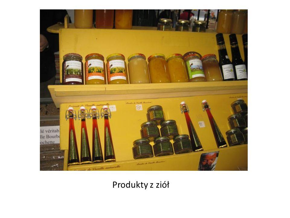 Produkty z ziół