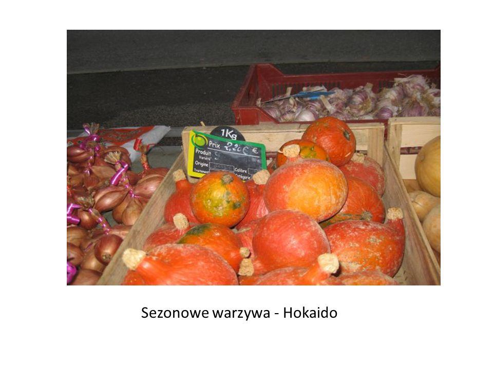 Sezonowe warzywa - Hokaido