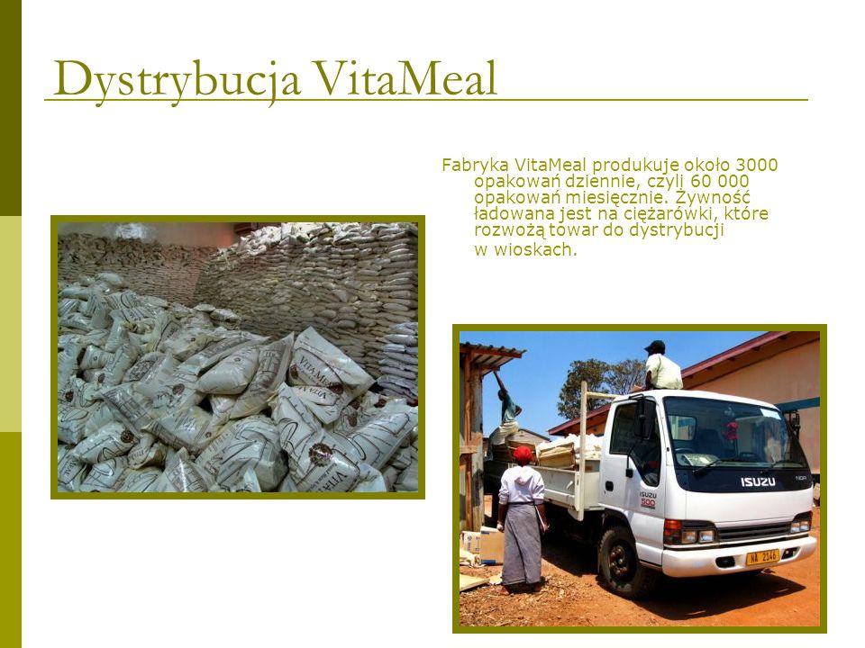 Władze wsi wyznaczają dzieci, które powinny otrzymać VitaMeal.
