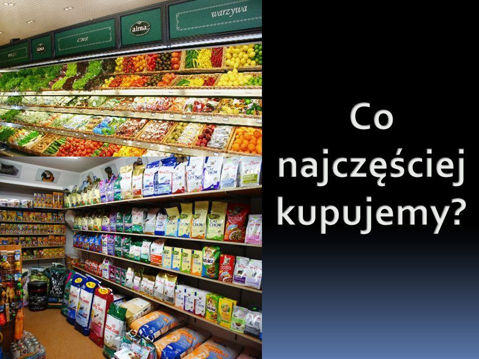 Co ludzie najczęściej kupują… Oczywiście alkohol i papierosy.