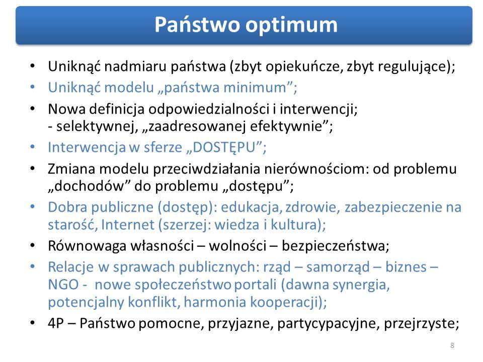 9 Cyfryzacja: Sens i cele Zwiększenie kompetencji cyfrowych społeczeństwa Zwiększenie potrzeby używania Internetu Zwiększenie dostępności do Internetu potencjał wzrostu PKB o 1-1,5% Broadband Infrastructure and Economic Growth (2009) Udział w PKB 2,7 % Promocja i edukacja Rozwój treści Wzrost sprawności państwa i rozwój e-gospodarki Wpływ na innowacyjny rozwój Projekty infrastrukturalne Wzrost gęstości o każde 10% Podejście kompleksowe/ holistyczne – wymiar cywilizacyjny, ekonomiczny, społeczny Trzy filary skutecznej cyfryzacji Raport Boston Consulting Group i Google