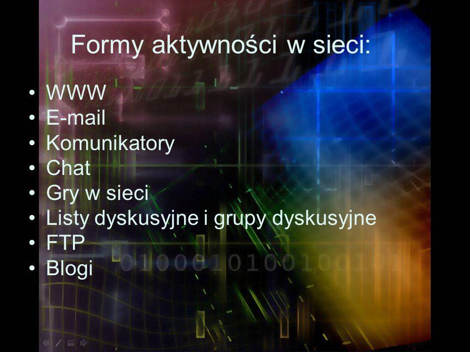 ZAGROŻENIA – Uzależnienie od Internetu Internet potrafi wciągnąć.