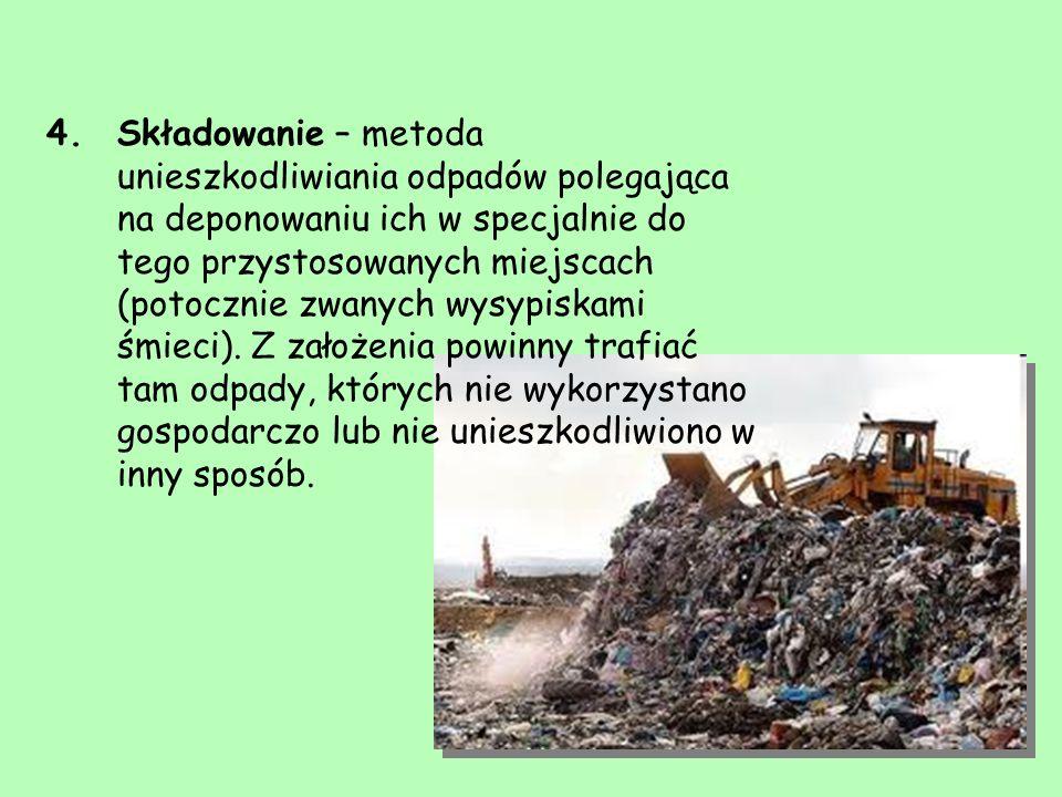Dzikie wysypiska: Dzikie wysypisko – nieprzygotowane pod względem technicznym miejsca, w których gromadzone są odpady bez zgody odpowiednich władz, np.