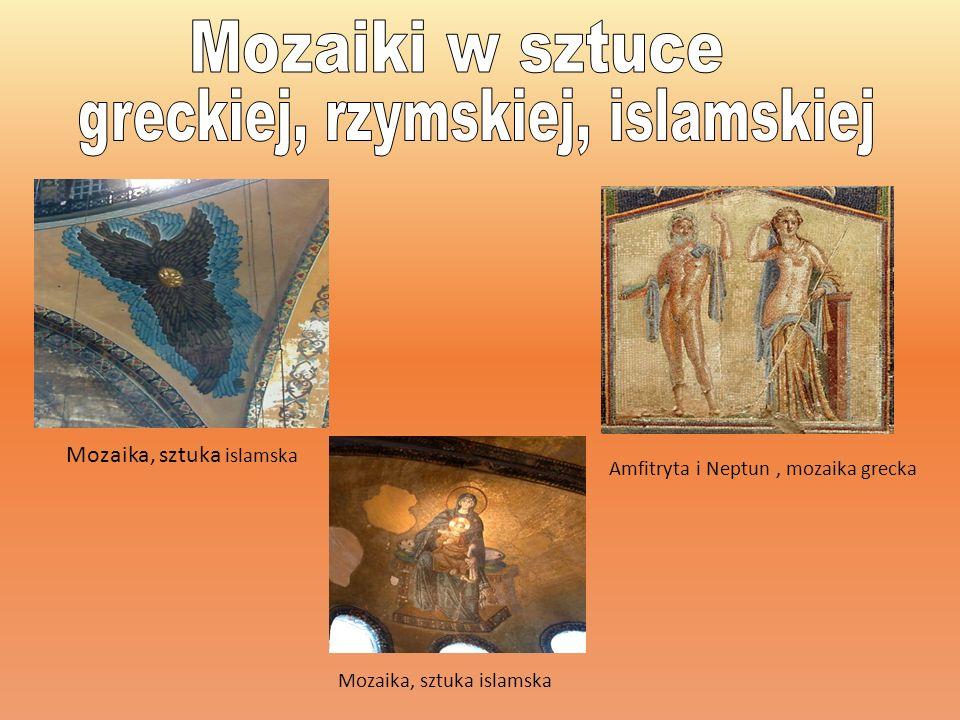 Grecka mozaika Aleksandra Wielkiego Mozaika w Haga Sofia Maska Acheloosa, rzymska mozaika