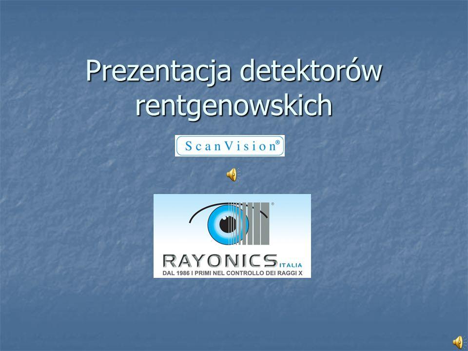 Prezentacja detektorów rentgenowskich