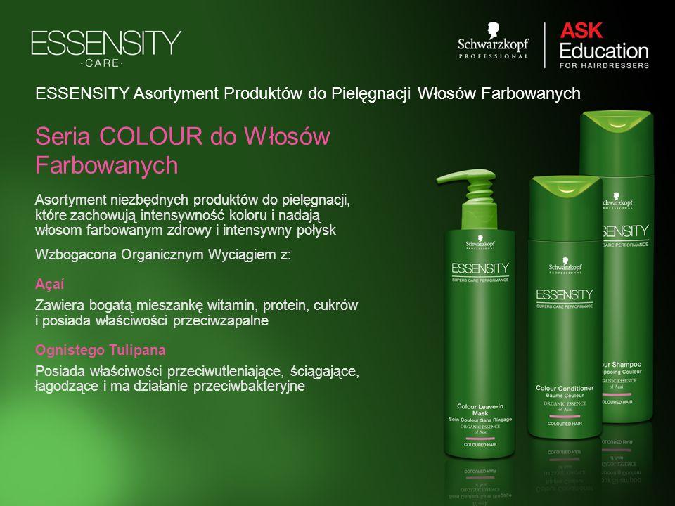 ESSENSITY Asortyment Produktów do Pielęgnacji Włosów Farbowanych Asortyment niezbędnych produktów do pielęgnacji, które zachowują intensywność koloru