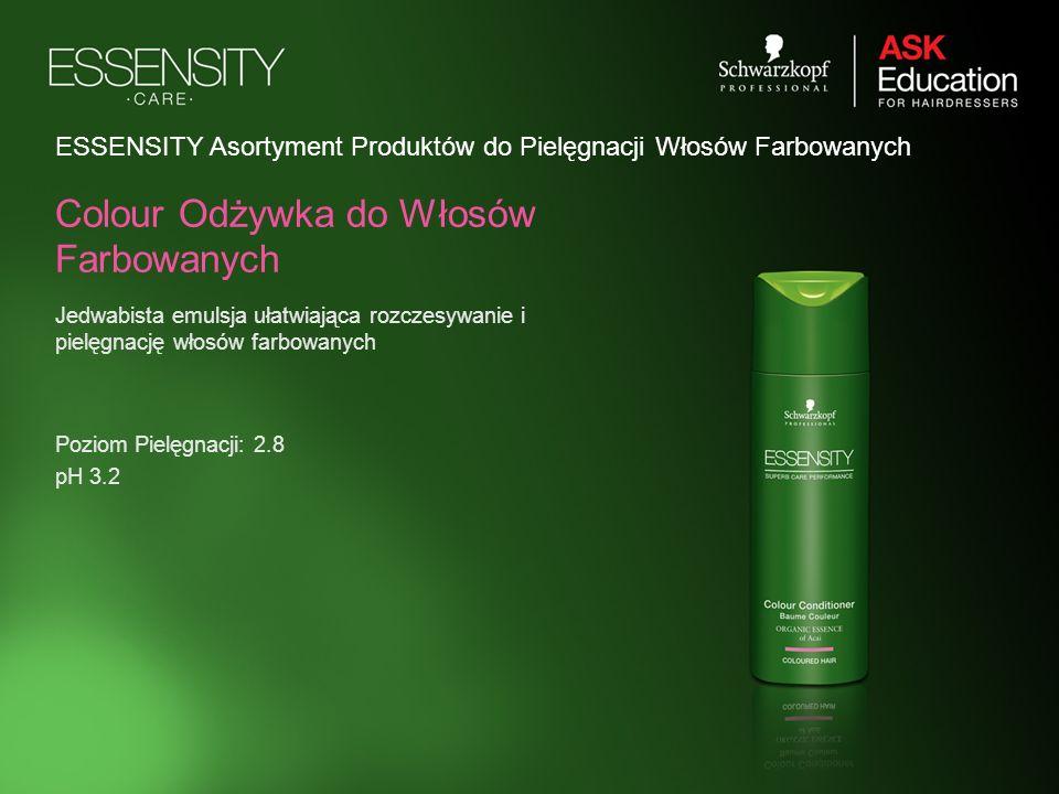 Colour Odżywka do Włosów Farbowanych Jedwabista emulsja ułatwiająca rozczesywanie i pielęgnację włosów farbowanych ESSENSITY Asortyment Produktów do P