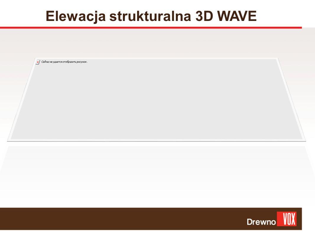 Elewacja strukturalna 3D WAVE