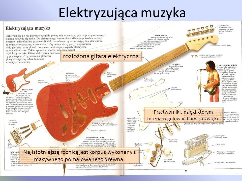 Elektrofony Elektrofony inaczej elektryczne instrumenty muzyczne to grupa instrumentów muzycznych w których dźwięk wytwarzany jest za pośrednictwem dr