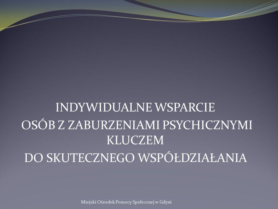 Instrumenty Aktywnej Integracji Miejski Ośrodek Pomocy Społecznej w Gdyni Warsztaty psychologiczne o charakterze integracyjnym dla beneficjentów.