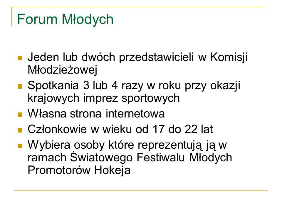 Polish Youth Panel – Polskie Forum Młodych Pierwsze spotkanie Polskiego Forum Młodych: – Kursokonferencja Promotorów Hokeja 28-30.10.2010 w Poznaniu