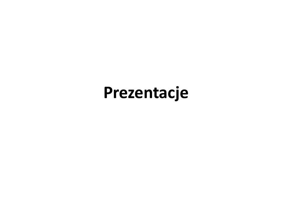 Prezentacje