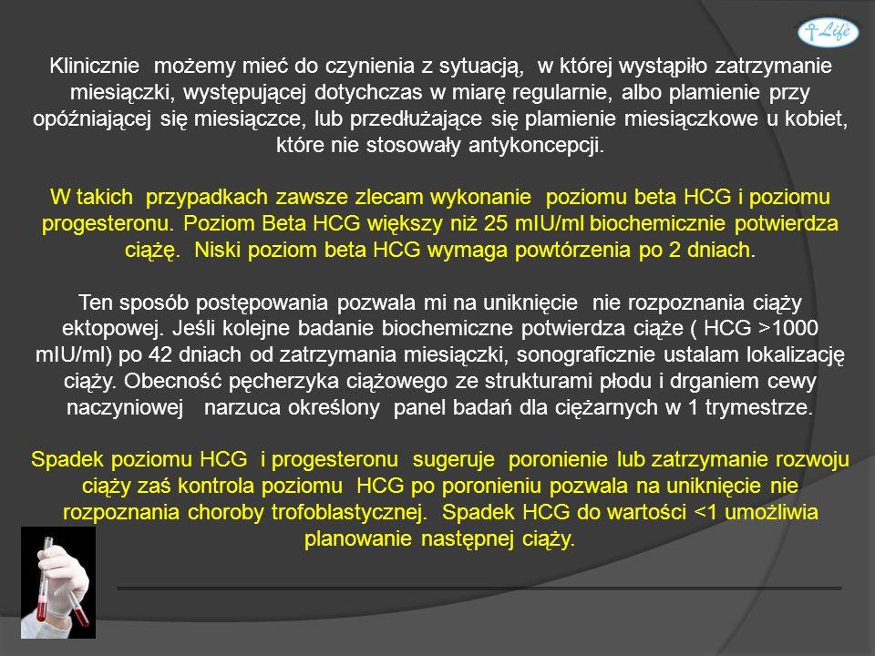 Na koniec czuję się zobowiązany poinformować Państwa o tym, że koszt badań laboratoryjnych w ciąży o prawidłowym przebiegu wynosi około 2000 PLN