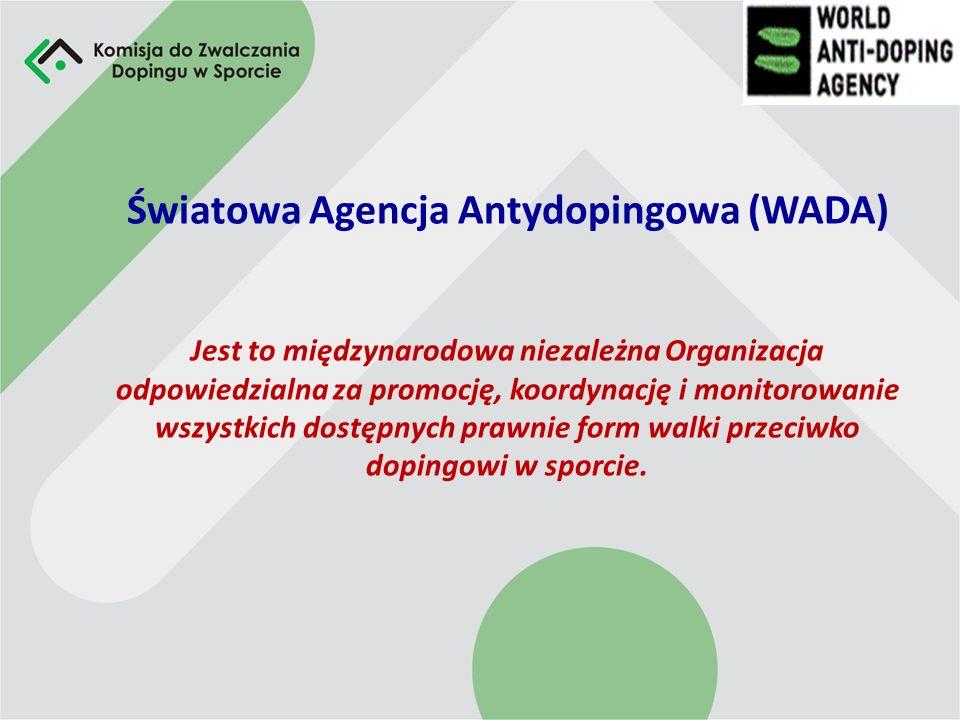 Historia Systemu Zwalczania Dopingu w Sporcie 1987 – Założenie Laboratorium Antydopingowego w Warszawie 1988 – Powstanie Komisji Antydopingowej w Pols