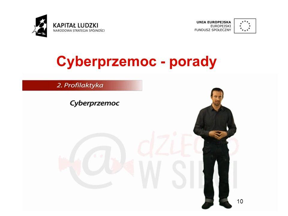 10 Cyberprzemoc - porady