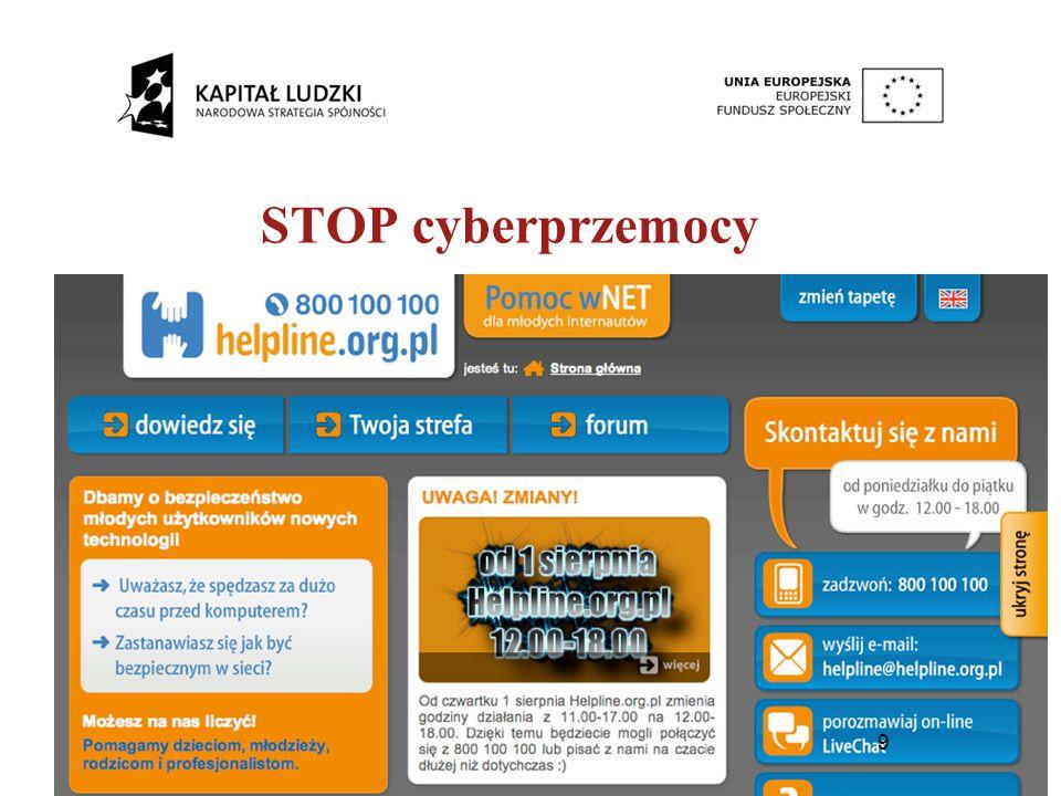 9 STOP cyberprzemocy