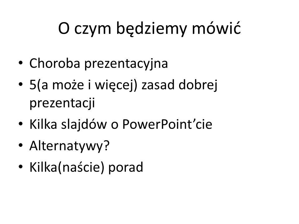 Obsługa PowerPoint i nie tylko. Czyli jak zrobić dobrą prezentację? Szymon Bohdanowicz