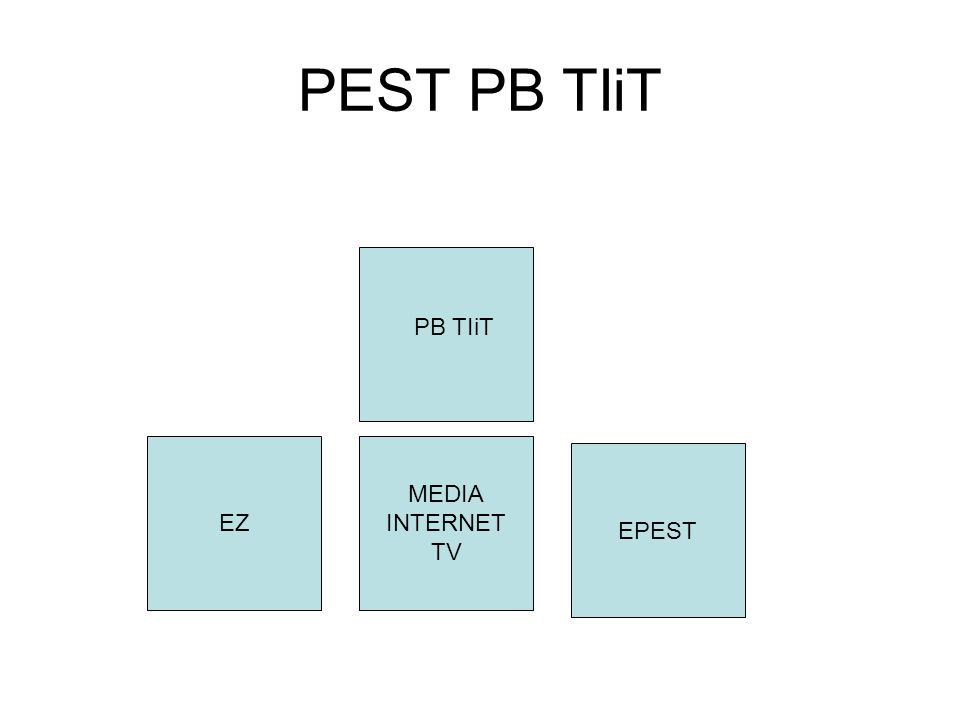 PEST PB B MEDIA INTERNET TV EPEST PB B EZ