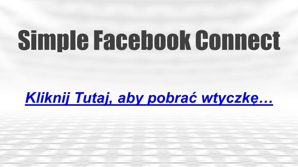 Simple Social Icons Kliknij Tutaj, aby pobrać wtyczkę…
