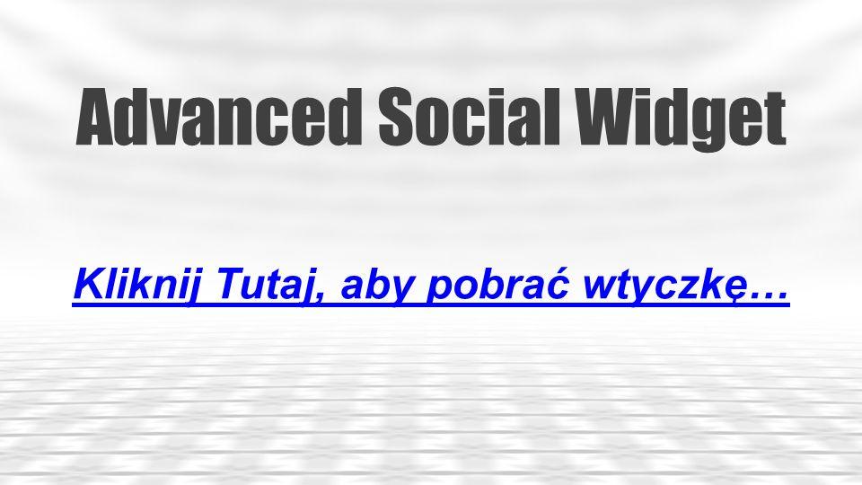 SocialBox – Social WordPress Widget Kliknij Tutaj, aby pobrać wtyczkę…