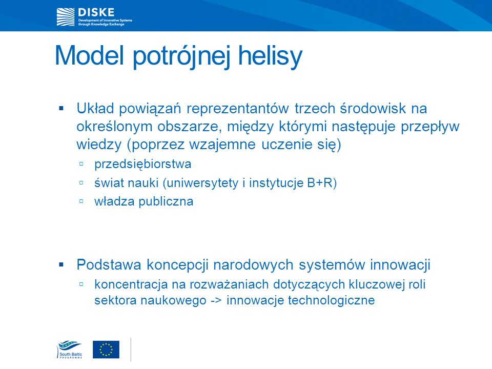Historia modelu triple helix Wspólne badania prof.