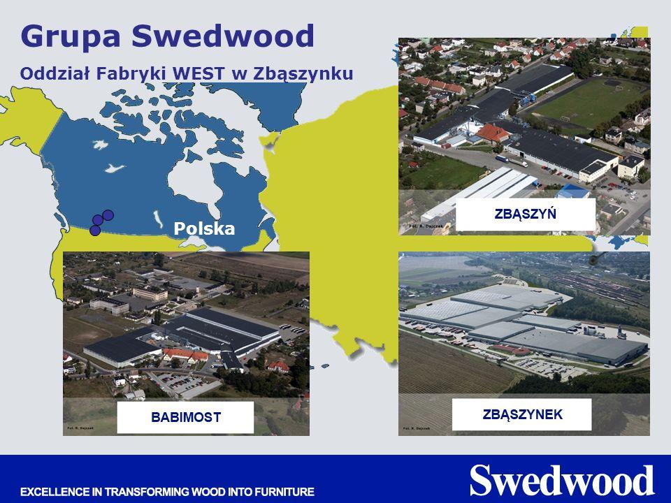 Polska Grupa Swedwood Oddział Fabryki WEST w Zbąszynku
