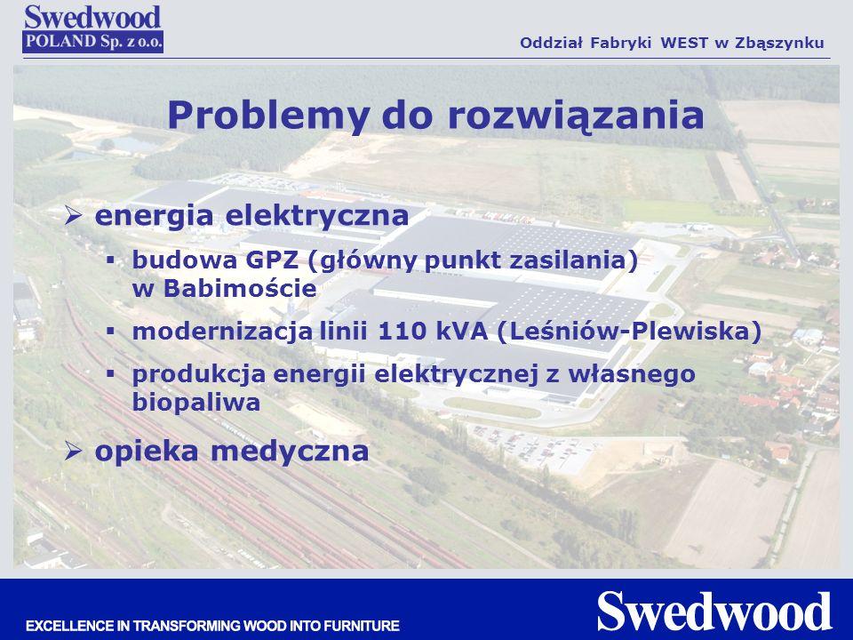 energia elektryczna budowa GPZ (główny punkt zasilania) w Babimoście modernizacja linii 110 kVA (Leśniów-Plewiska) produkcja energii elektrycznej z wł