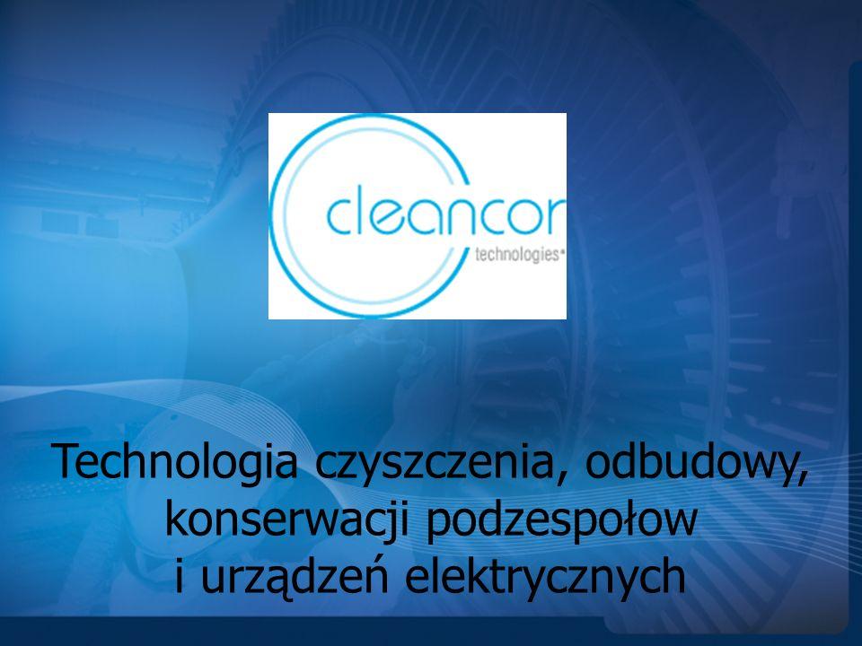 Technologia czyszczenia, odbudowy, konserwacji podzespołow i urządzeń elektrycznych