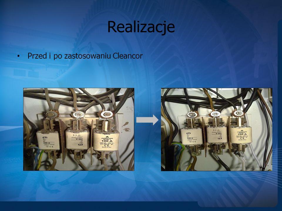 Realizacje Inne zastosowania technologii Cleancor