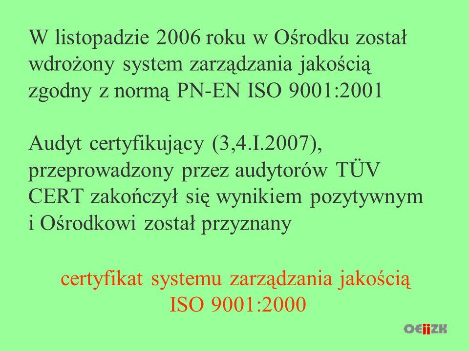 Oferta na rok szkolny 2007/08 Ośrodek Edukacji Informatycznej i Zastosowań Komputerów