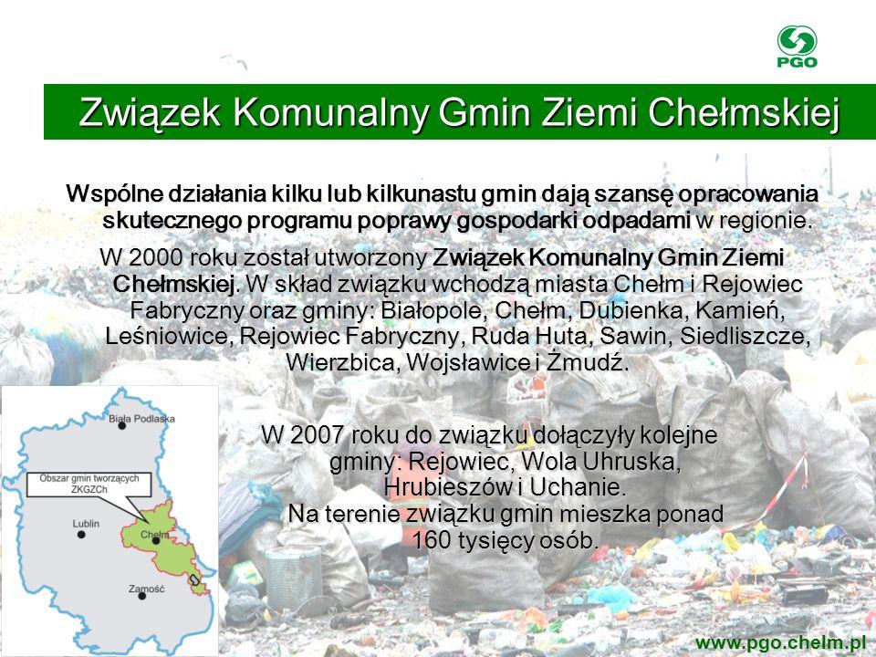Wspólne działania kilku lub kilkunastu gmin dają szansę opracowania skutecznego programu poprawy gospodarki odpadami w regionie. W 2000 roku został ut