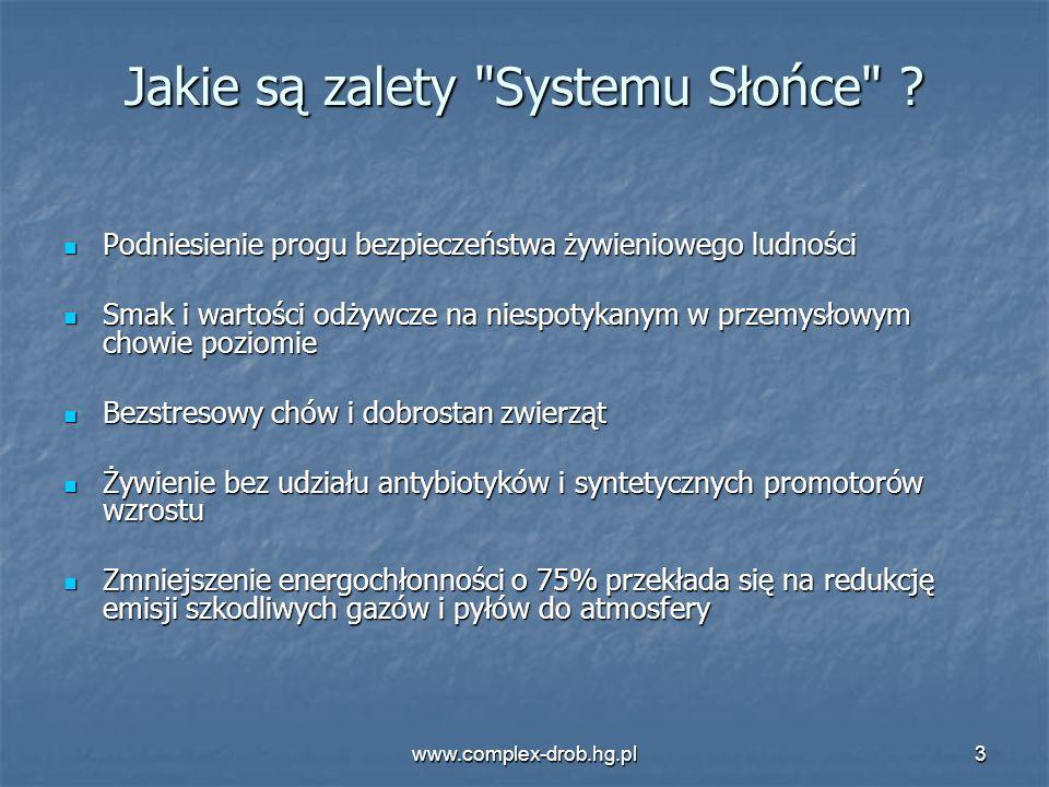 www.complex-drob.hg.pl3 Jakie są zalety