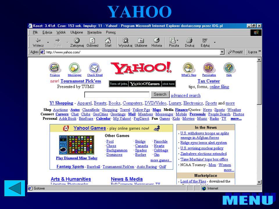 NETSCAPE COMMUNICATOR Netscape Communicator 4.76 : zawiera program Netscape Messanger do obsługi poczty e-mail oraz grup dyskusyjnych a także edytor stron internetowych Netscape Composer.